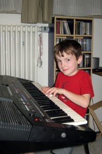 Pianist Dominik
